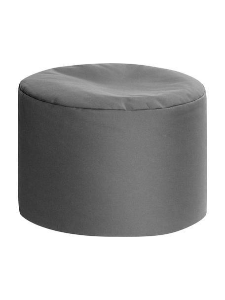 Pouf sacco da esterno-interno Dotcom, Rivestimento: 100% poliacrilico Dralon , Antracite, Ø 60 x Alt. 40 cm
