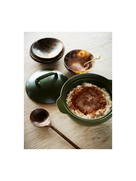 Łyżka kuchenna Bali, Drewno mangowe, Ciemny beżowy, D 29 cm