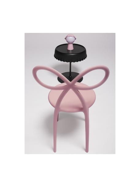 Kunststoff-Stuhl Ribbon in Rosa, Kunststoff (Polypropylen), Rosa, B 53 x T 52 cm