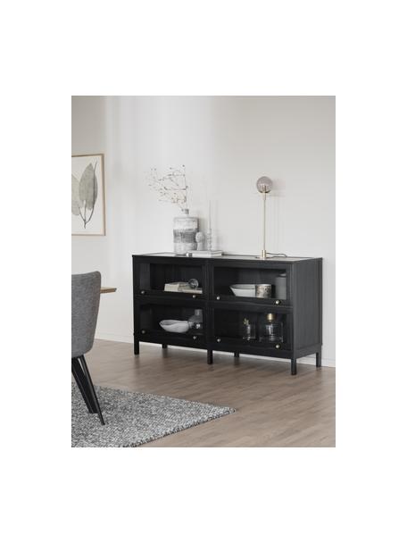 Aparador Kilmore, Negro, An 150 x Al 81 cm
