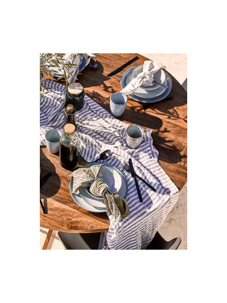 Set di posate nere in acciaio inossidabile Shine, Coltello: acciaio inossidabile 13/0, Nero, 1 persona (5 pz)