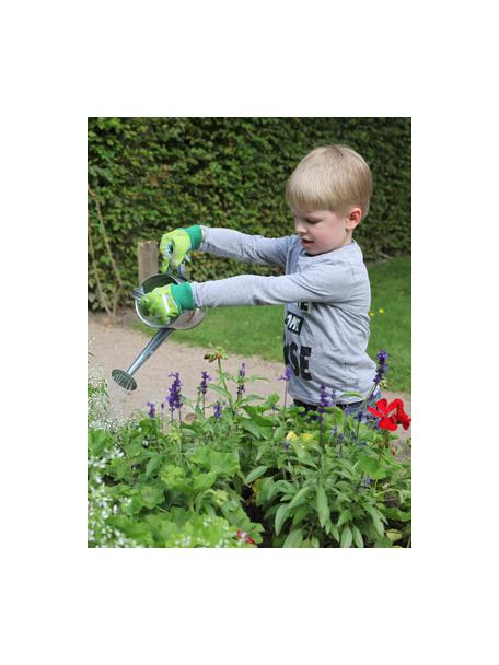 Guantes infantiles de jardinería Little Gardener, Algodón, poliéster, viscosa, PVC, Verde, An 11 x Al 20 cm