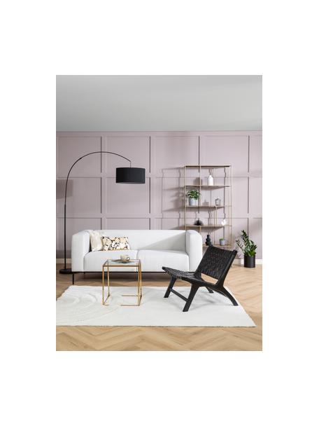 Sofa z metalowymi nogami Carrie (2-osobowa), Tapicerka: poliester 50 000 cykli w , Tapicerka: wyściółka z pianki na zaw, Nogi: metal lakierowany, Beżowy, S 176 x G 86 cm