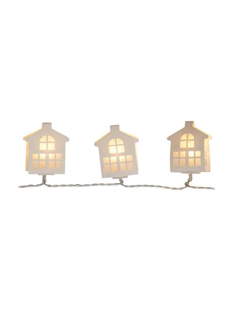 LED-Lichterkette Paperwork, L 225 cm, Weiss, L 225 cm