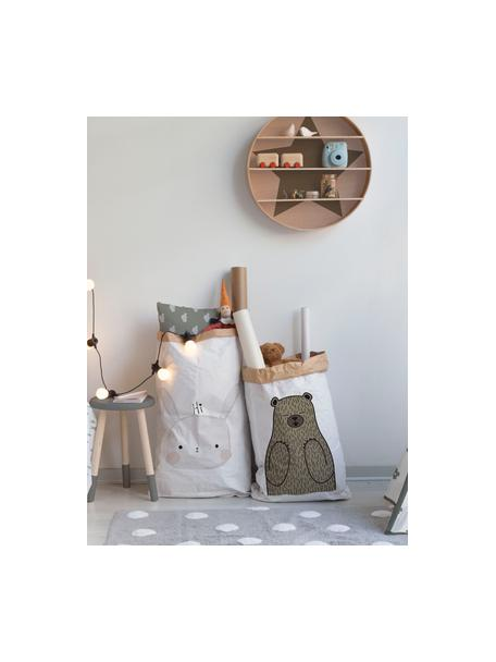 Busta in carta Rabbit, Carta riciclata, Bianco, nero, grigio, rosa, Larg. 60 x Alt. 90 cm