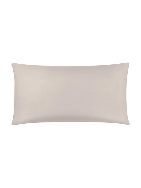 Poszewka na poduszkę z satyny bawełnianej Comfort, 2 szt., Taupe, S 40 x D 80 cm