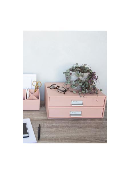 Organizer biurowy Birger, Brudny różowy, S 33 x W 15 cm