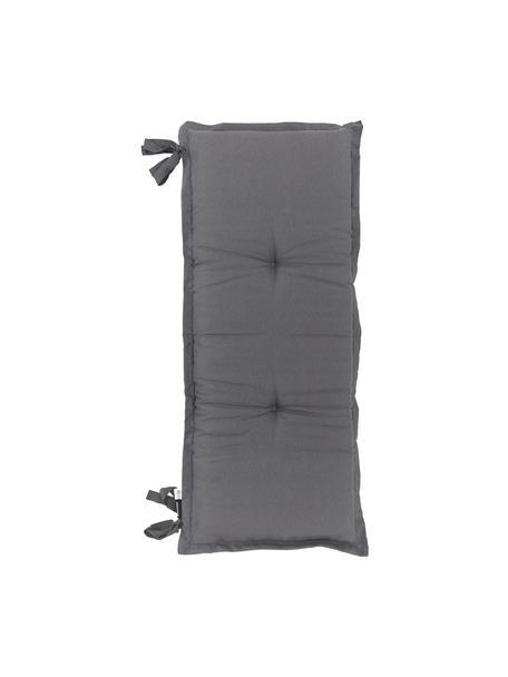 Poduszka na ławkę Panama, Tapicerka: 50% bawełna, 45% polieste, Antracytowy, S 48 x D 120 cm