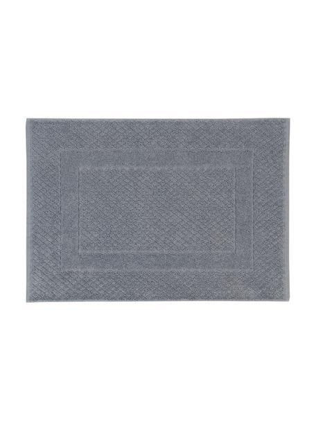 Badmat Katharina in grijs, 100% katoen, zware kwaliteit, 900 g/m², Donkergrijs, 50 x 70 cm