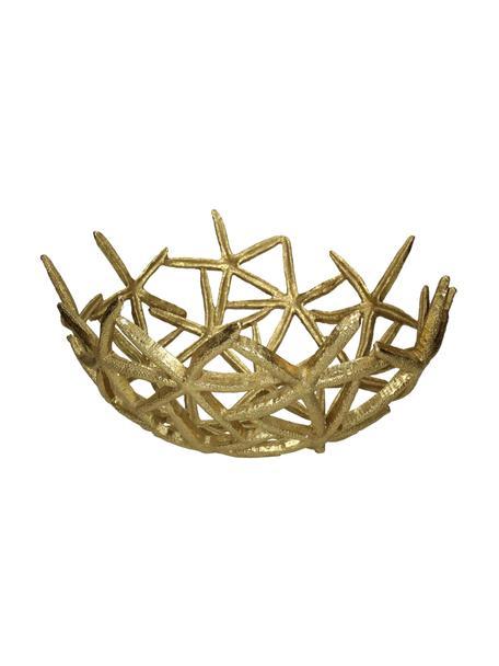 Miska dekoracyjna Seastar, Poliresing, Odcienie złotego, S 35 x G 36 cm