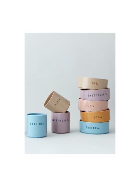 Ciotolina per bambini Mini Favorite, Senza Tritan, BPA, BPS e EA, Blu, Ø 11 x Alt. 5 cm