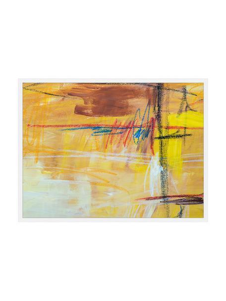 Lámina decorativa Abstract Art IV, Multicolor, An 83 x Al 63 cm