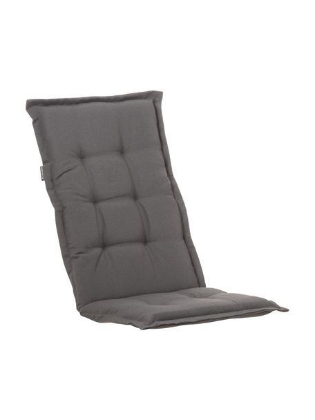 Cojín para silla con respaldo Panama, Funda: 50%algodón, 50%poliéste, Gris, An 50 x L 123 cm