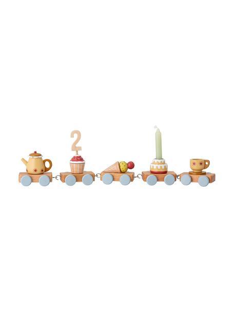 Pieza decorativa Birthday, Madera, Multicolor, An 39 x Al 7 cm
