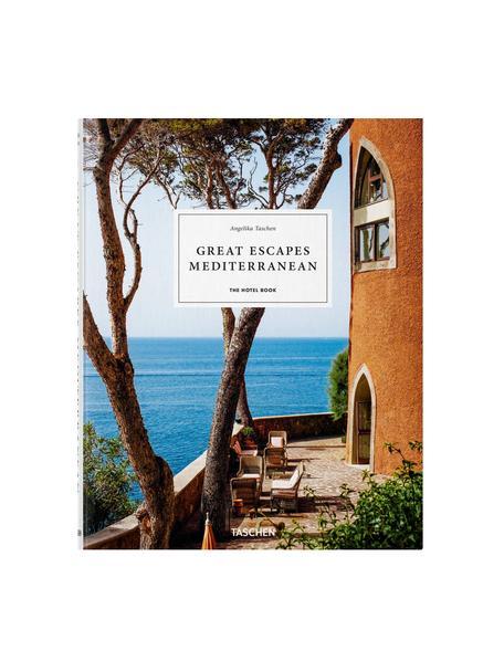 Geïllustreerd boek Great Escapes Mediterranean, Papier, hardcover, Multicolour, 24 x 31 cm