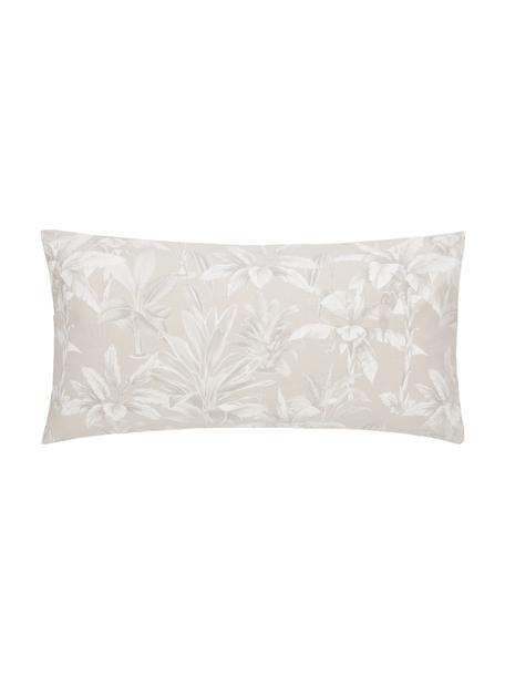 Baumwoll-Kissenbezüge Shanida in Beige/Cremeweiss, 2 Stück, Webart: Renforcé Fadendichte 144 , Beige, 40 x 80 cm