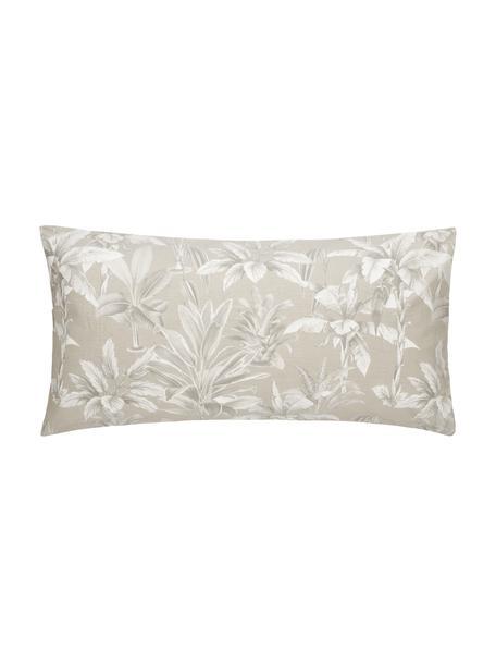 Poszewka na poduszkę z bawełny Shanida, 2 szt., Beżowy, S 40 x D 80 cm