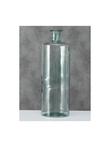 Jarrón de suelo de vidrio reciclado Pavlo, Vidrio reciclado, Verde, Ø 25 x Al 75 cm
