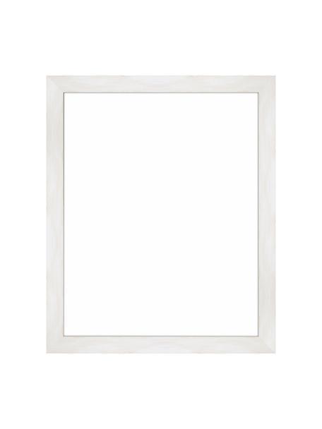 Cornice bianca Magic, Cornice: legno di pino Monterey, v, Retro: Pannello di fibra a media, Bianco, 24 x 30 cm