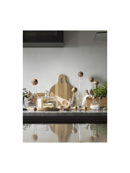 Set 2 posate da insalata Henny, Legno di quercia, Legno di quercia, Larg. 7 x Lung. 24 cm