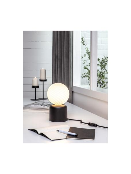 E27 Leuchtmittel, 6W, dimmbar, warmweiss, 1 Stück, Leuchtmittelschirm: Glas, Leuchtmittelfassung: Aluminium, Weiss, Ø 15 x H 19 cm