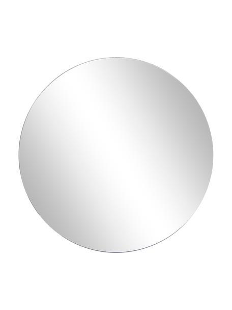 Specchio rotondo da parete Walls, Superficie dello specchio: lastra di vetro, Retro: pannello di fibra a media, Lastra di vetro, Ø 80 cm