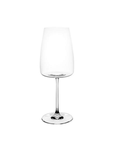 Copas de vino tinto de cristal Moinet, 6uds., Cristal, Transparente, Ø 9 x Al 23 cm