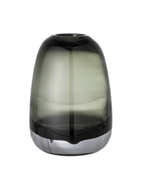 Jarrón de vidrio Adjo, Vidrio, Gris, Ø 13 x Al 18 cm
