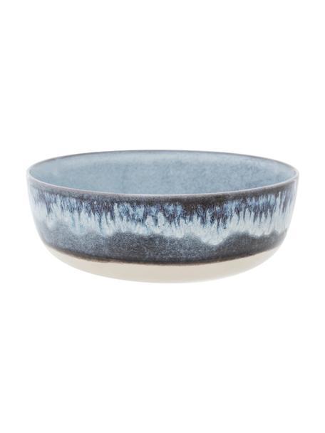 Cuencos Inspiration, 2uds., Gres, Azul, beige claro, Ø 17 cm