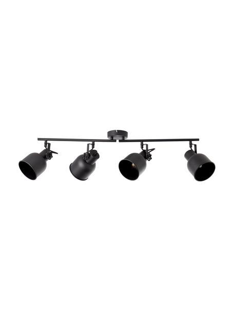 Lampa sufitowa w stylu industrial Rolet, Czarny, S 76 x W 18 cm