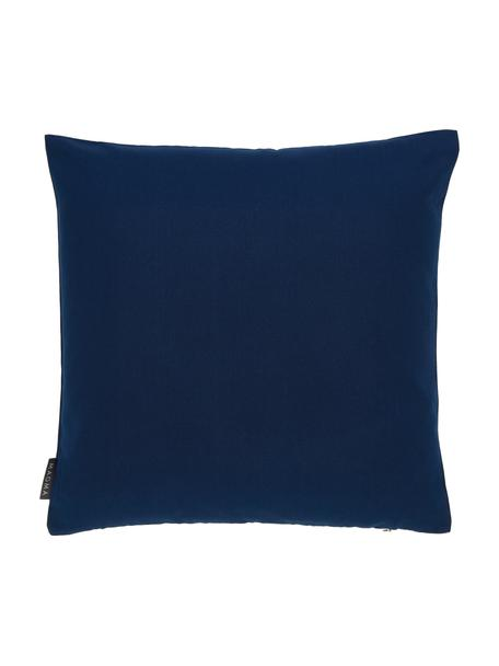 Outdoor kussenhoes Blopp, Dralon (100% polyacryl), Donkerblauw, 45 x 45 cm