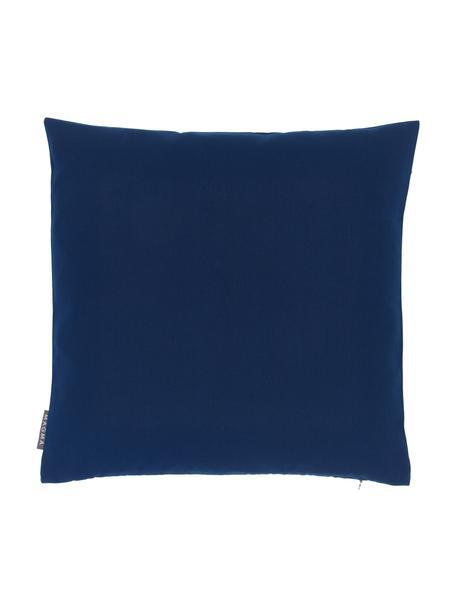 Poszewka na poduszkę zewnętrzną Blopp, Dralon (100% poliakryl), Ciemny niebieski, S 45 x D 45 cm
