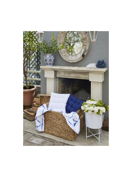 Poduszka na krzesło Ava, Biały, S 40 x D 40 cm