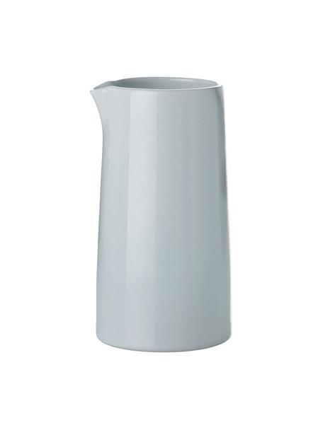 Steingut Thermo-Milchkännchen Emma, 300 ml, Steingut, Blau,Grau, 300 ml