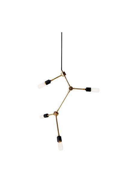 Lampada senza sospensione Franklin, Ottone, Ø 56 x Alt. 56 cm
