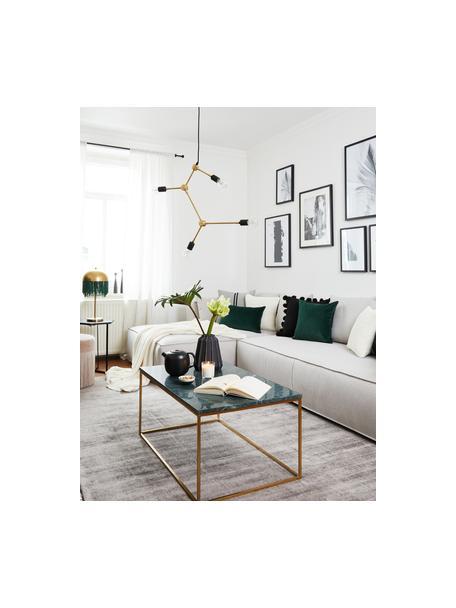Hanglamp Franklin zonder ophanging, Messing, Messingkleurig, 56 x 56 cm