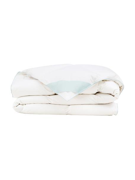 Reine Daunen-Bettdecke Premium, mittel, Hülle: 100% Baumwolle, feine Mak, Weiß, 200 x 200 cm
