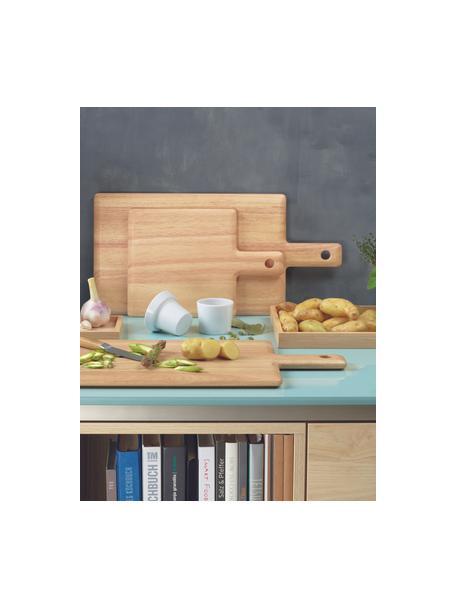 Deska do krojenia z drewna Wood Light, Drewno naturalne, Beżowy, D 23 x S 22 cm