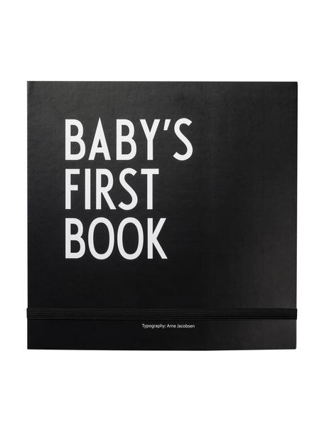 Babyboek Baby´s First Book, Papier, Zwart, wit, 25 x 25 cm