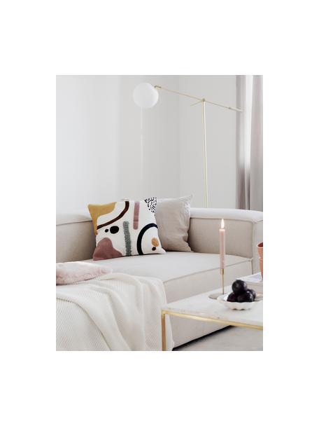 Poszewka na poduszkę Wassily, 100% bawełna, Przód: wielobarwny Tył: biały, S 45 x D 45 cm