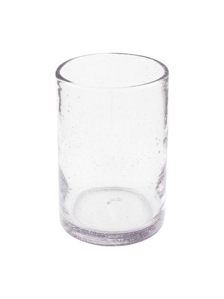 Jarrón de vidrio Spring, Vidrio, Transparente, Ø 13 x Al 18 cm