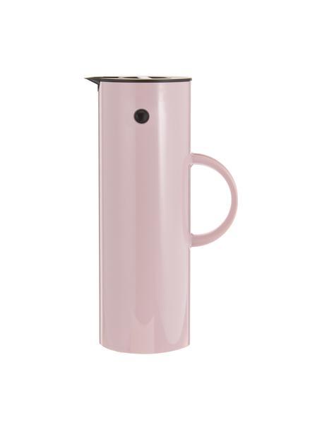 Isolierkanne EM77 in Rosa glänzend, 1 L, ABS-Kunststoff mit Glaseinsatz, Lavendelfarben, 1 L