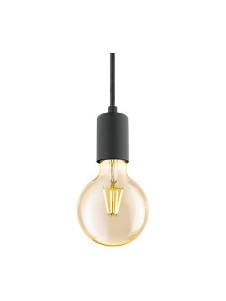 Lampa wisząca Trey, Czarny, matowy, Ø 10 x W 8 cm