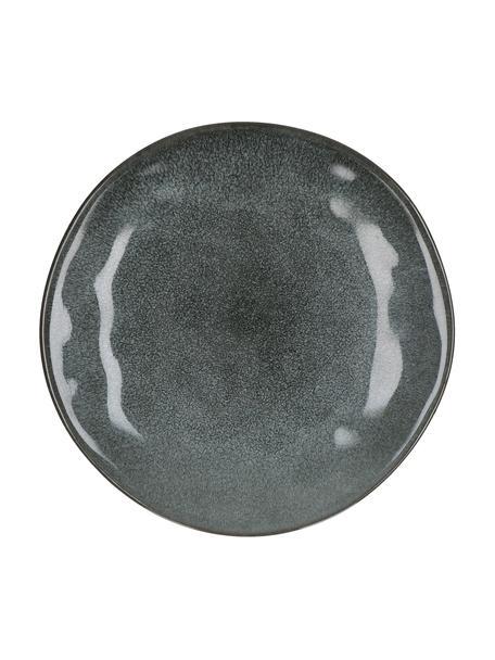 Platos postre Pauline, 2uds., Gres, Gris oscuro, Ø 21 cm