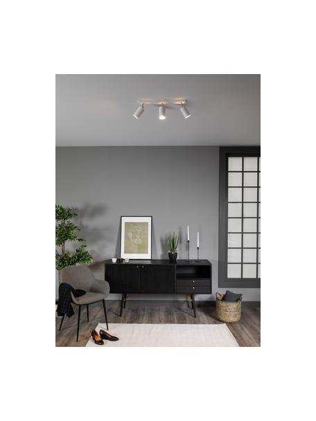 Riel Etna, Estructura: acero, Anclaje: acero pintado, Blanco, An 45 x Al 15 cm
