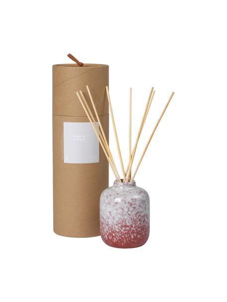 Diffusore Maple Walnut (noce), Contenitore: ceramica, Rosso, bianco, Ø 7 x Alt. 9 cm