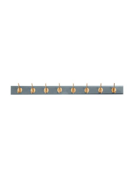 Perchero de pared grande Aoife, Barra: tablero de fibras de dens, Gris, An 90 x Al 7 cm