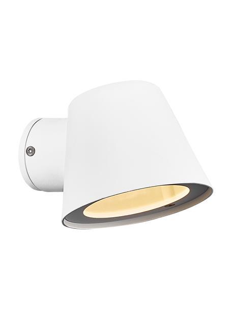 Außenwandleuchte Aleria in Weiß, Lampenschirm: Metall, beschichtet, Gebrochenes Weiß, 12 x 11 cm