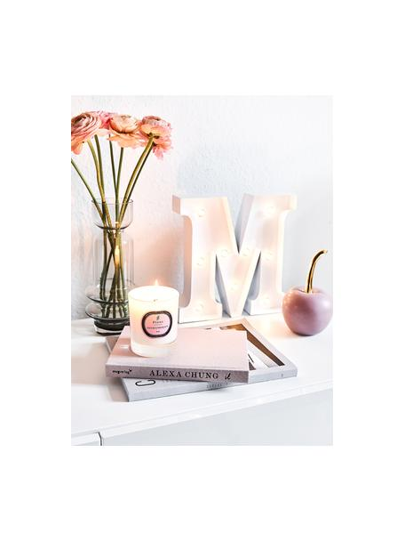 Duftkerze Aromatherapy (Rose, Fresie & Lilie), Behälter: Glas, Rose, Fresie & Lilie, Ø 8 x H 9 cm