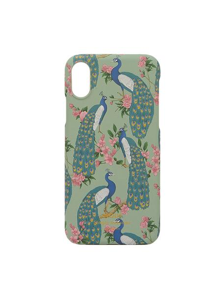 Cover  per iPhone X  Royal Forest, Silicone, Multicolore, Larg. 7 x Alt. 15 cm